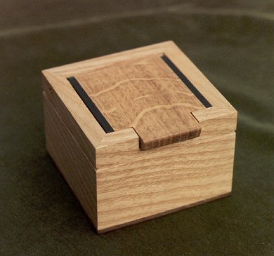 Oak/Ash/Ebony Trinket Box